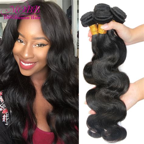 show pic of body wave wwave hair style brazilian virgin hair body wave 4 bundles human hair weave
