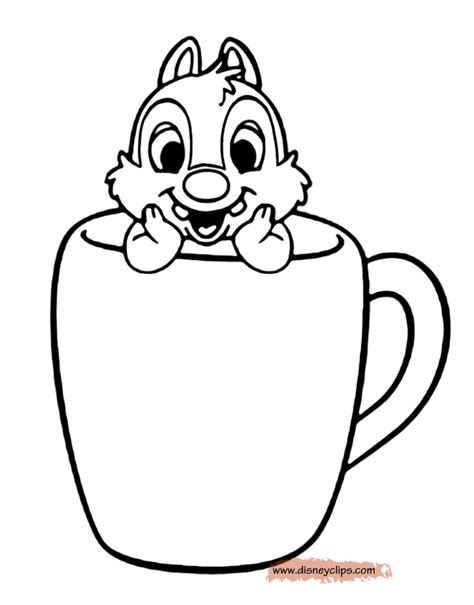 disney coloring pages chip and dale chip and dale printable coloring pages disney coloring book