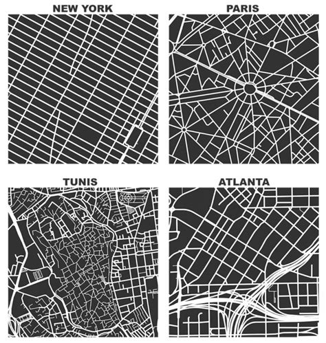 grid layout of cities compare city grids with this street network tool next