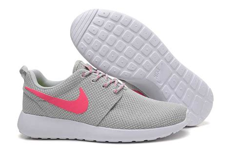 gray and pink nikes