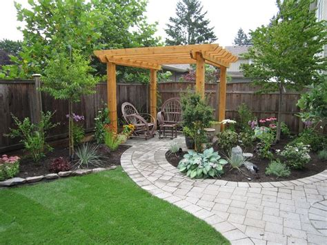 landscape design ideas for backyard 25 best ideas about small backyards on pinterest small