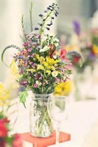 wildflower arrangements fun light wildflower centerpieces jen and kyle wedding flowers pinterest floral
