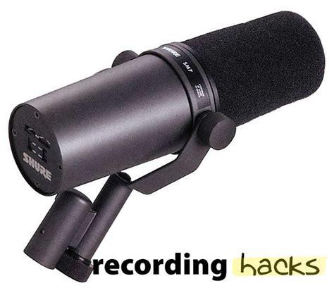 Shure Sm7b shure sm7b recordinghacks