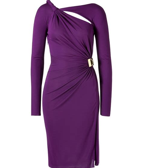 today s obsession emilio pucci violet dress