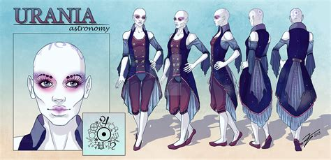 urania character reference sheet by tbdoll on deviantart