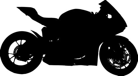 Kaos Motor Yamaha R6 Siluet silhouette clipart motorcycle pencil and in color