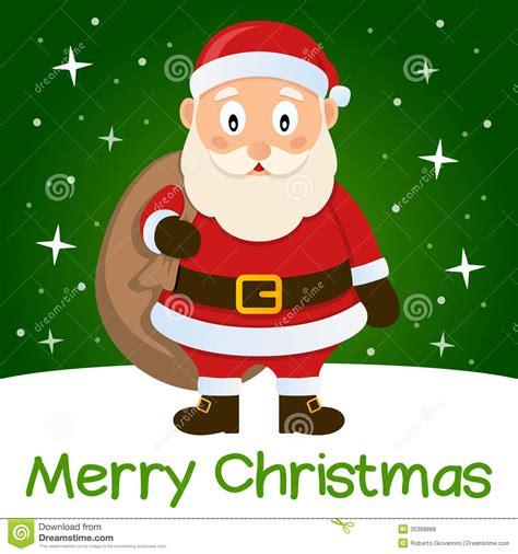 free christmas cards santa claus cards green christmas card santa claus stock vector image