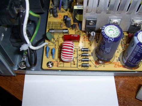 working of capacitor in power supply ea4eoz an radio electronic enthusiast the noisy pc power supply