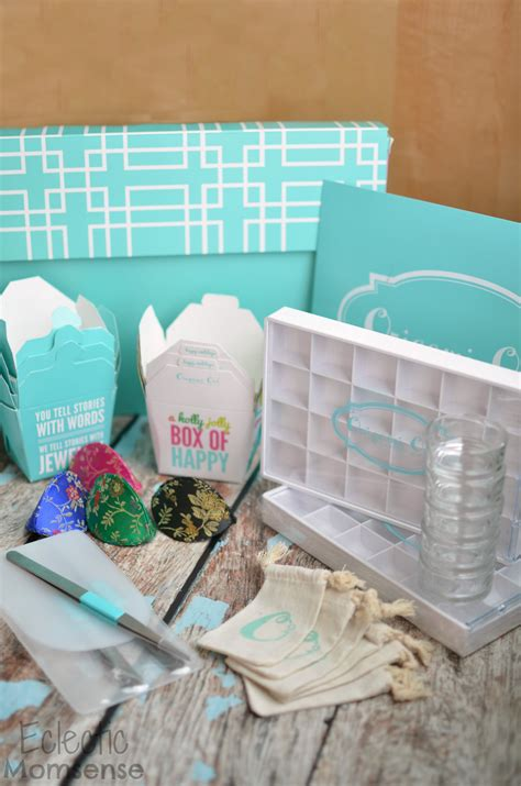 Origami Owl Supplies - origami owl unboxing a jolly box of happy