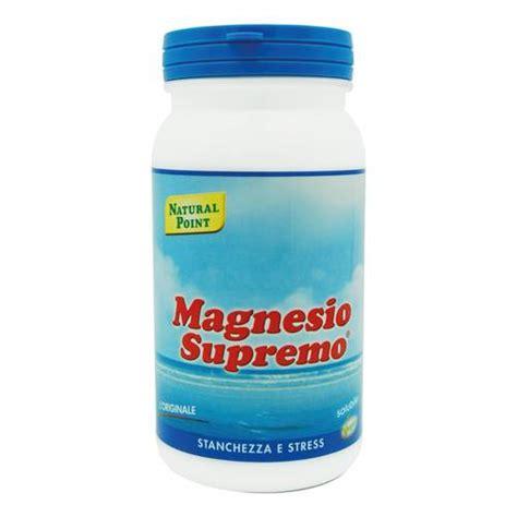 magnesio supremo in allattamento magnesio supremo 150g farmacia italia
