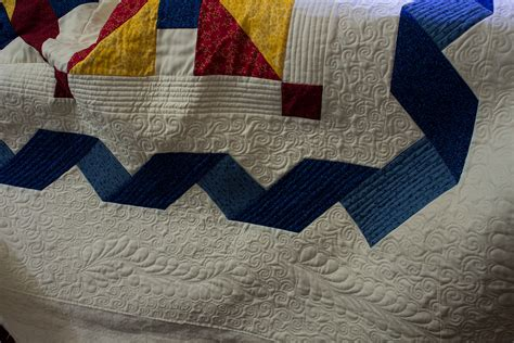 How To Border A Quilt by Victory Quilt Border Quilting Done Hobby Stash