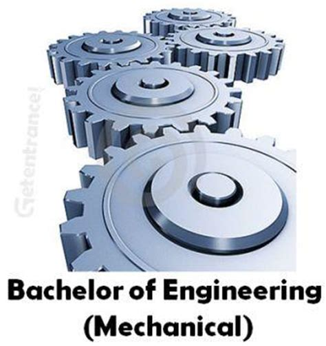 Bs In Mechanical Engineering And Mba by Bachelor Of Engineering Mechanical Course Details