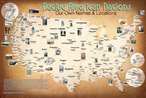 maps of american tribes showing their locations