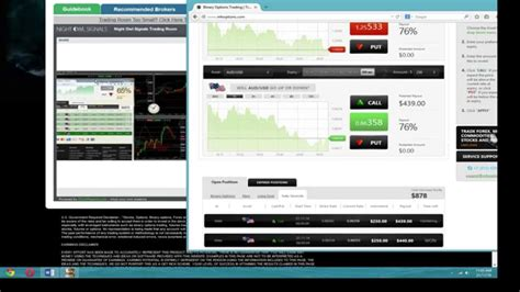 binary options live trading room binary options trading signals candid experience in a
