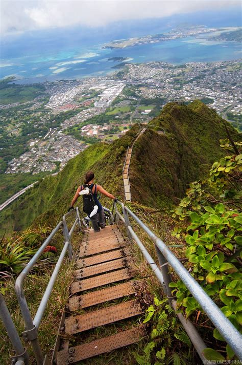 haiku stairs quot stairway to heaven quot oahu unrealhawaii com