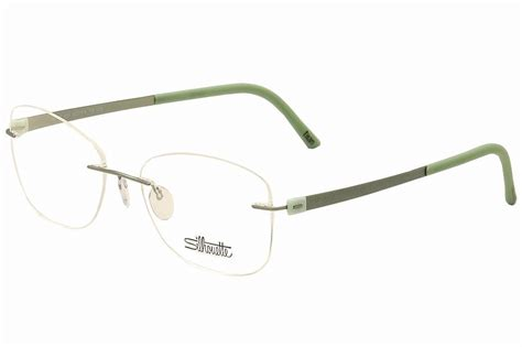 silhouette eyeglasses titan accent chassis 5452 6054 mint