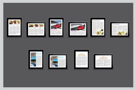 digital magazine template free digital magazine template vol 01 magazine templates on