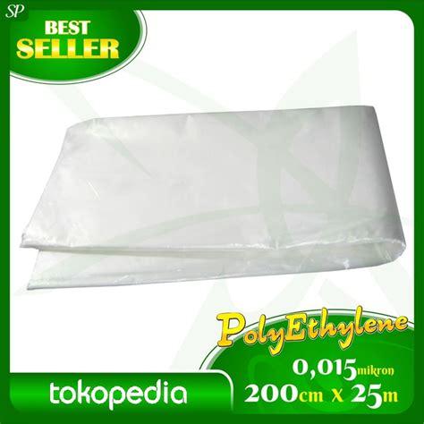Plastik Cor Panjang 63 Meter plastik pe penutup tanaman bibit pe cor ukr 0 015 x