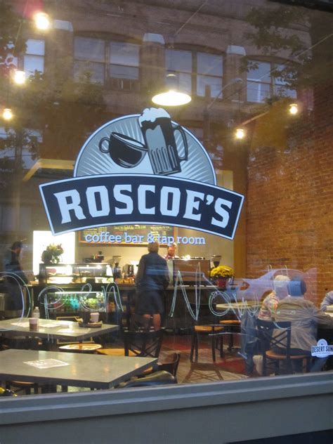 roscoe s coffee bar taproom now open depot district