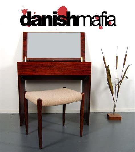 modern vanity desk mid century modern rosewood dresser vanity desk