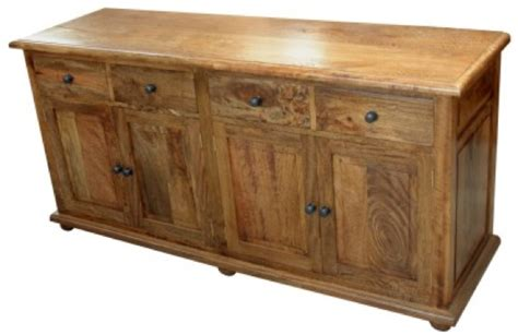 Buffet Dining Room Furniture 4 Door Sideboard Solid Mango Wood Sjs Provence Furniture