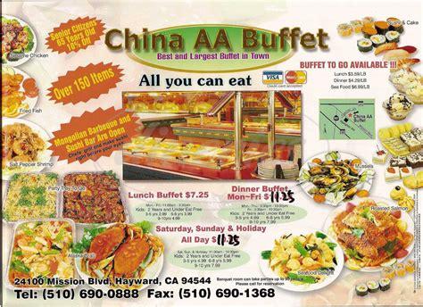 asian buffet menu hayward dineries