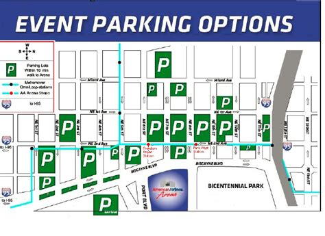American Airlines Arena Parking Garage by Miami Heat Parking At American Airlines Arena Parkadvice