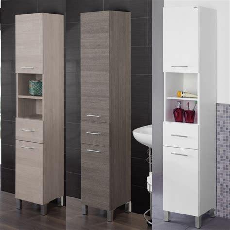 colonne da bagno complementi moderni colonna singola alta 33x180x33 prof