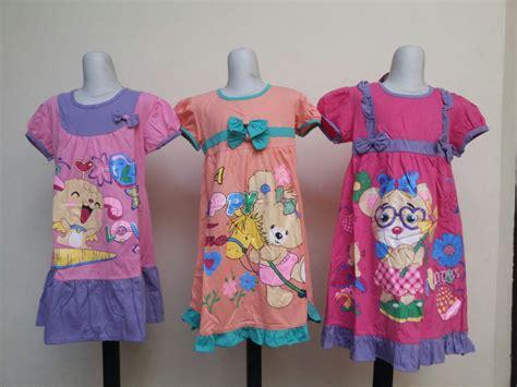 Murah Kaos Anak Perempuan Katun Adem grosir dress karakter anak perempuan murah 27ribu