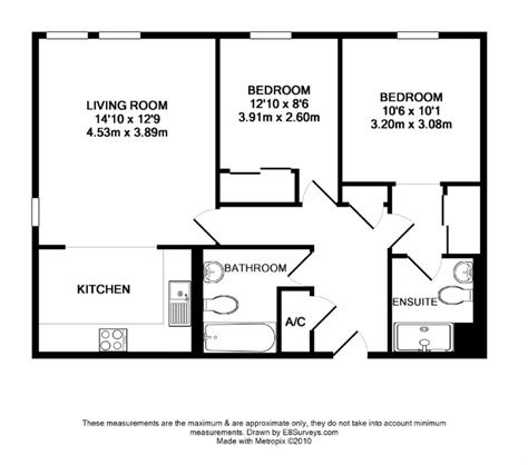 Two Bedroom Flat Floor Plan | modern bedroom apartment floor plans three bhk house ideas