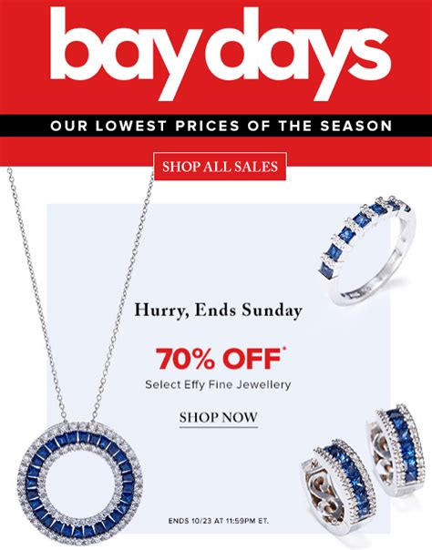 Day In The Bay Mba 2016 by Hudson S Bay Canada Bay Days Offers Save 70 Select