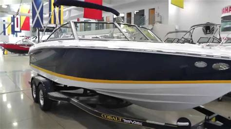 yellow cobalt boat for sale 2015 cobalt 220s for sale lodder s marine youtube