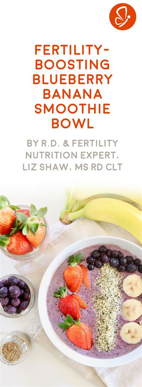 Blueberry Banana Detox Smoothie by Best 20 Fertility Smoothie Ideas On Fertility