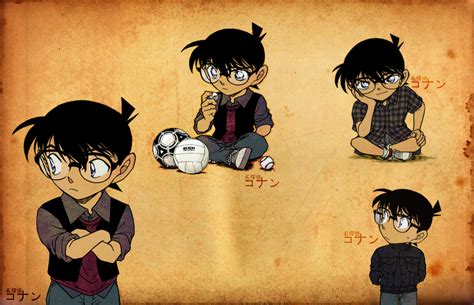 kopi hangat gambar kartun manga serial detektif conan