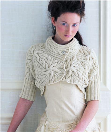 free knitting patterns shrugs boleros capecho workshop