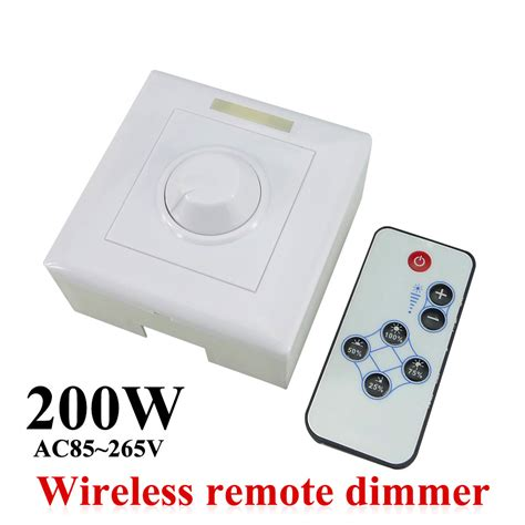 Dimmer Led Light Bulbs Ac85 265v 200w Led Dimmer Ir Knob Remote Switch For Dimmable Led Bulb Or Led Led