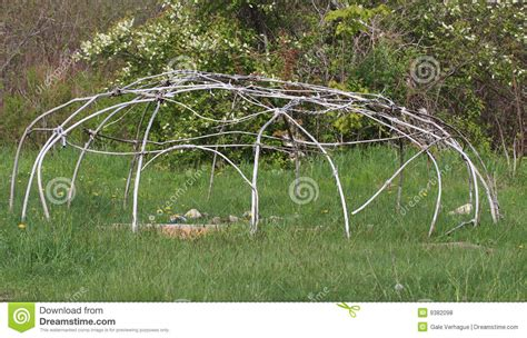 how to make a sweat lodge in your backyard sweat lodge frame royalty free stock photos image 9382098