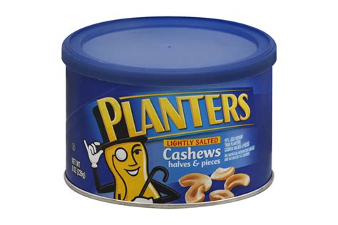 Planters Cashews by Planters 174 Lightly Salted Cashew Halves Pieces 8 Oz