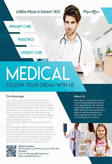 Free Medical Health Care Flyer Templates For Photoshop By Elegantflyer Health Care Flyer Template Free