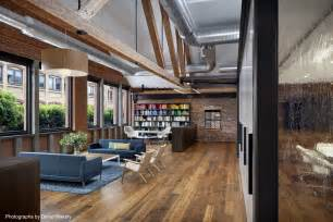 Raw Chair Frames Inside Tolleson S Rustic San Francisco Warehouse Offices