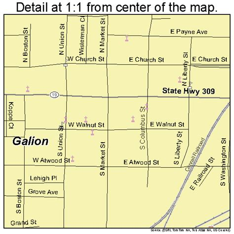 galion ohio map galion ohio map 3929162