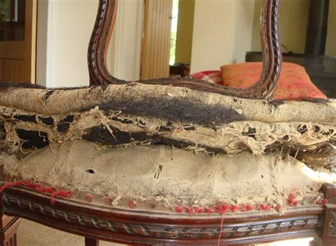 Upholstery Restored by Traditional Upholstery Restoring A 100 Year Chair