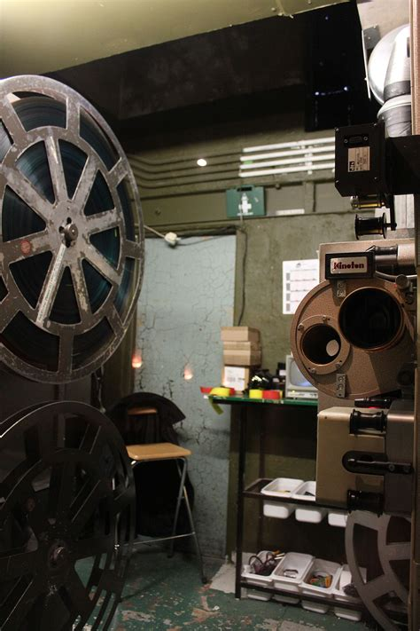 Projection Room by Projection Booth