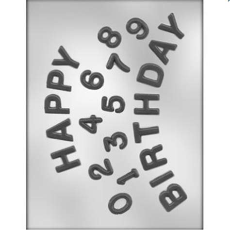 Kuas Details By Happy Bakers ck products happy birthday numbers chocolate mold