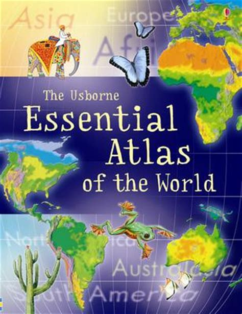 flags of the world usborne essential atlas of the world essential atlas of the