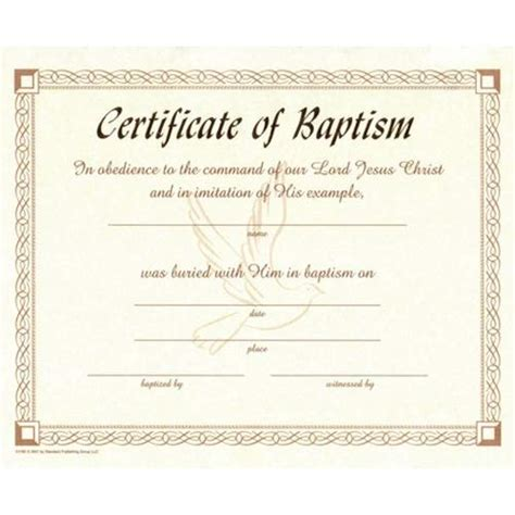 free water baptism certificate template search results for water baptism certificate template