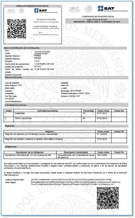 Que Es La Constancia De Situacion Fiscal | consultar r 233 gimen fiscal invoiceone