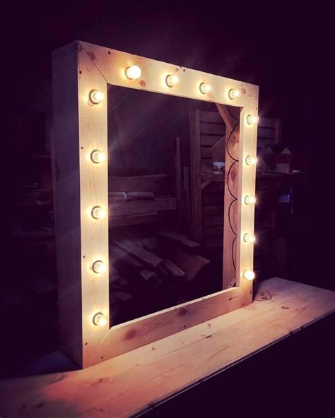 led mirror lights the 25 best pallet mirror ideas on bathroom