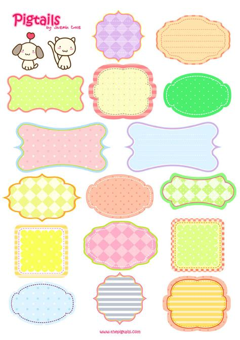 printable stickers cute freebies weekend tags and labels scrappy scrappy