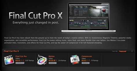 final cut pro app fcp x buyers forced to upgrade their hardware reports claim